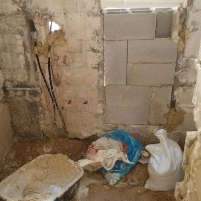שיפוץ חדר אמבטיה מהיסוד